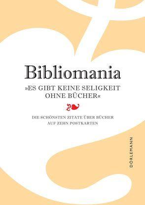 Bibliomania. Postkarten-Set von Steven,  Gilbar
