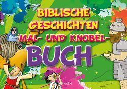 Biblische Geschichten Mal- und Knobel-Buch von Rohleder,  Cornelia