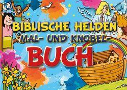 Biblische Helden Mal- und Kobel-Buch von Rohleder,  Cornelia