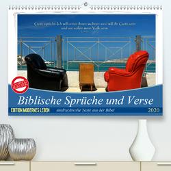 Biblische Sprüche und Verse (Premium, hochwertiger DIN A2 Wandkalender 2020, Kunstdruck in Hochglanz) von HC Bittermann,  Photograph