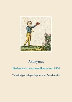Biedermeier-Lenormandkarten (Wahrsagekarten, Aufschlagkarten) von Anonymus,  Anonymus