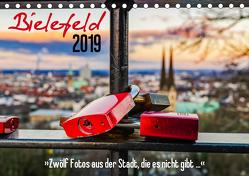 Bielefeld. 12 Fotos aus der Stadt, die es nicht gibt … (Tischkalender 2019 DIN A5 quer) von Dumcke,  Rico