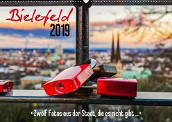 Bielefeld. 12 Fotos aus der Stadt, die es nicht gibt … (Wandkalender 2019 DIN A2 quer) von Dumcke,  Rico