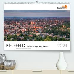 BIELEFELD aus der Vogelperspektive (Premium, hochwertiger DIN A2 Wandkalender 2021, Kunstdruck in Hochglanz) von Inh. Sandra Finger,  himmelstarter