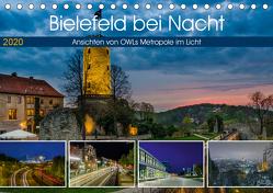 Bielefeld bei Nacht (Tischkalender 2020 DIN A5 quer) von Dumcke,  Rico