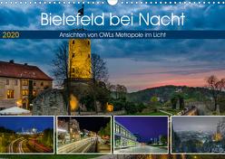 Bielefeld bei Nacht (Wandkalender 2020 DIN A3 quer) von Dumcke,  Rico