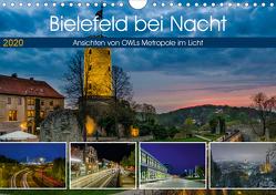 Bielefeld bei Nacht (Wandkalender 2020 DIN A4 quer) von Dumcke,  Rico