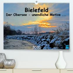 Bielefeld – Der Obersee – unendliche Motive… (Premium, hochwertiger DIN A2 Wandkalender 2020, Kunstdruck in Hochglanz) von Kloss,  Wolf