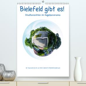 Bielefeld gibt es! Stadtansichten im Kugelpanorama (Premium, hochwertiger DIN A2 Wandkalender 2020, Kunstdruck in Hochglanz) von Schwarzer,  Kurt
