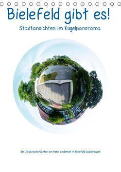 Bielefeld gibt es! Stadtansichten im Kugelpanorama (Tischkalender 2019 DIN A5 hoch) von Schwarzer,  Kurt
