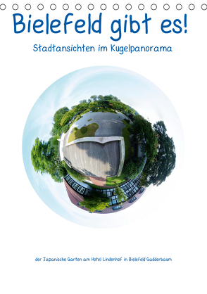 Bielefeld gibt es! Stadtansichten im Kugelpanorama (Tischkalender 2020 DIN A5 hoch) von Schwarzer,  Kurt