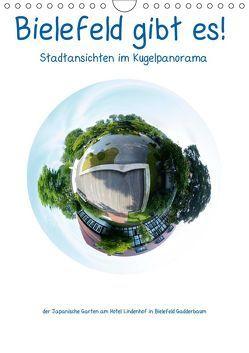Bielefeld gibt es! Stadtansichten im Kugelpanorama (Wandkalender 2019 DIN A4 hoch) von Schwarzer,  Kurt