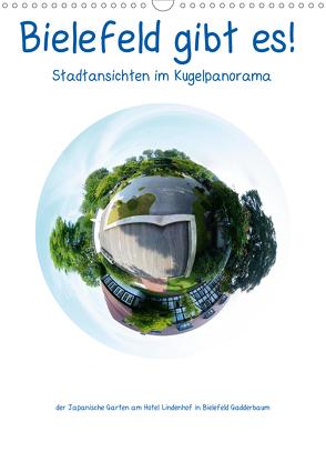 Bielefeld gibt es! Stadtansichten im Kugelpanorama (Wandkalender 2020 DIN A3 hoch) von Schwarzer,  Kurt