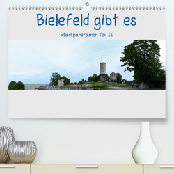 Bielefeld gibt es! Stadtpanoramen Teil 2 (Premium, hochwertiger DIN A2 Wandkalender 2021, Kunstdruck in Hochglanz) von Schwarzer,  Kurt