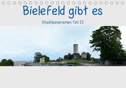 Bielefeld gibt es! Stadtpanoramen Teil 2 (Tischkalender 2021 DIN A5 quer) von Schwarzer,  Kurt
