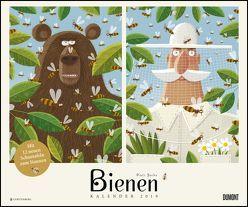 Bienen 2019 – DUMONT Kinder-Kalender – Querformat 58,4 x 48,5 cm – Spiralbindung von DUMONT Kalenderverlag, Socha,  Piotr