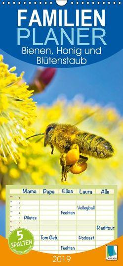 Bienen, Honig und Blütenstaub – Familienplaner hoch (Wandkalender 2019 , 21 cm x 45 cm, hoch) von CALVENDO