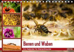 Bienen und Waben (Tischkalender 2019 DIN A5 quer) von Wilms,  Barbara