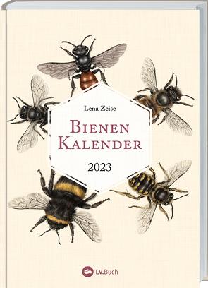 Bienenkalender 2023 von Lena Zeise