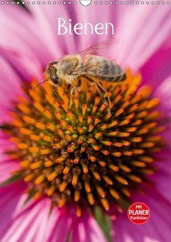 Bienenplaner (Wandkalender 2018 DIN A3 hoch) von Bangert,  Mark