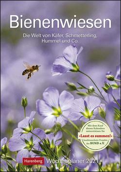 Bienenwiesen Kalender 2021 von Harenberg