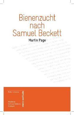 Bienenzucht nach Samuel Beckett von Krämer,  Gernot, Page,  Martin