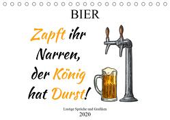 Bier – Lustige Sprüche und Grafiken (Tischkalender 2020 DIN A5 quer) von Stock und Boom Manufaktur@Spreadshirt,  pixs:sell@Adobe