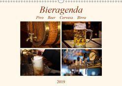 Bieragenda – Pivo Beer Cervesa Birra (Wandkalender 2019 DIN A3 quer) von M. Krahe,  Matthias