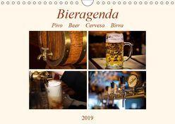 Bieragenda – Pivo Beer Cervesa Birra (Wandkalender 2019 DIN A4 quer) von M. Krahe,  Matthias