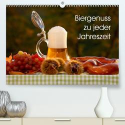 Biergenuss zu jeder Jahreszeit (Premium, hochwertiger DIN A2 Wandkalender 2021, Kunstdruck in Hochglanz) von Jäger,  Anette/Thomas