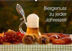 Biergenuss zu jeder Jahreszeit (Wandkalender 2018 DIN A2 quer) von Jäger,  Anette/Thomas