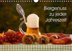 Biergenuss zu jeder Jahreszeit (Wandkalender 2018 DIN A4 quer) von Jäger,  Anette/Thomas