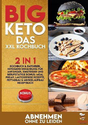 BIG KETO Das XXL Kochbuch von Kitchen,  Charlie's