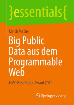 Big Public Data aus dem Programmable Web von Matter,  Ulrich