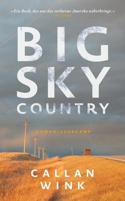Big Sky Country von Meyer,  Hannes, Wink,  Callan