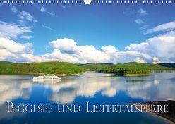Biggesee und Listertalsperre (Wandkalender 2019 DIN A3 quer) von Wigger,  Dominik