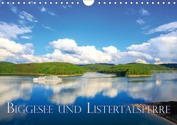Biggesee und Listertalsperre (Wandkalender 2019 DIN A4 quer) von Wigger,  Dominik