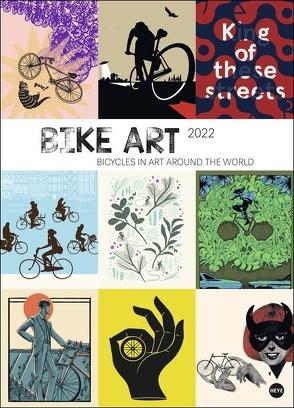 Bike Art Edition Kalender 2022 von Heye