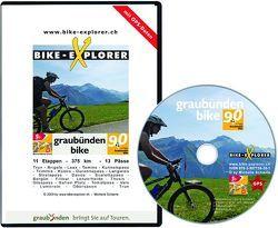 Bike-Explorer Graubünden Bike 90, CD-ROM inkl. GPS-Tracks von Schierle,  Michelle