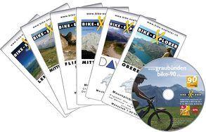 Bike-Explorer Graubünden Bike 90, Set inkl. GPS-Tracks von Schierle,  Michelle