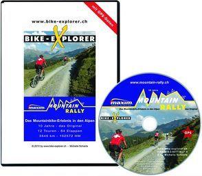 BIKE-EXPLORER Mountain-Rally, inkl. GPS-Tracks, CD-ROM von Schierle,  Michelle