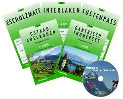 Bike-Explorer Top of Berner Oberland, Set inkl.GPS-Tracks von Schierle,  Michelle