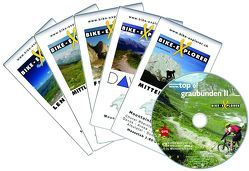 BIKE-EXPLORER Top of Graubünden II, Set inkl. GPS-Tracks von Schierle,  Michelle