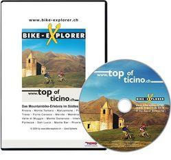 Bike-Explorer Top of Ticino Süd, CD-ROM inkl. GPS-Tracks von Schierle,  Gerd, Schierle,  Michelle