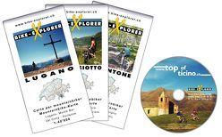Bike-Explorer Top of Ticino Süd, Set inkl. GPS-Tracks von Schierle,  Gerd, Schierle,  Michelle