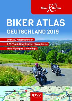 Biker Atlas DEUTSCHLAND 2019