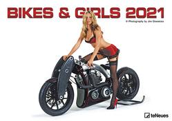 Bikes & Girls 2021 – Wand-Kalender – 42×29,7 – Frauen – Motorrad von Gianatsis,  Jim