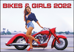 Bikes & Girls 2022 – Wand-Kalender – 42×29,7 – Frauen – Motorrad von Gianatsis,  Jim