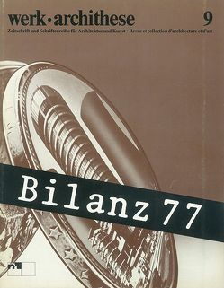 Bilanz 77 von Moos,  Stanislaus von