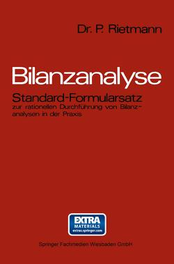 Bilanzanalyse von Rietmann,  Peter